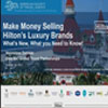 Making Money Selling Hilton Luxuary brands