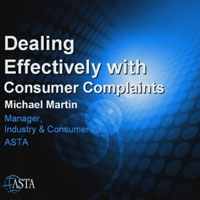 dealing with complains
